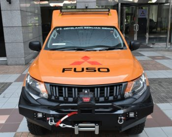 Demi Perkuat Bisnis Pelanggan, Mitsubishi Fuso Sediakan Armada Service Anyar